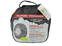 Les Schwab Alpine Premier Quick Fit 1525 Traction Tire Winter Snow Chains