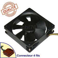 Ventilateur de chassis Delta Electronics Ref: AUB0912VH 92x92x25 4 fils 12 0.6A