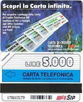 NUOVA SMAG GOLDEN 116 (C&C 1209) CARTA INFINITA TIPO B 06.93 5.000 LIRE MANTEGAZ