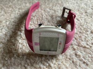 Polar FT4 Pink White Digital Multi Application  Sports Watch Fitness Heart Rate