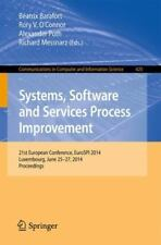 Systems, Software and Services Process Improvement