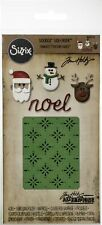 Sizzix ~ CHRISTMAS ~ Thinlits / Texture Fades Tim Holtz Alterations Noel Santa