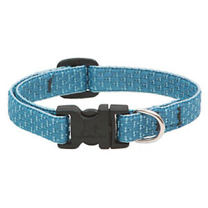 36335 Eco Dog Collar, Adjustable, Tropical Sea, 1/2 x 10 to 16-In. - Quantity 1
