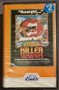 ATTACK OF THE KILLER TOMATOES 70s Comedy Horror MEDIA Video BETA