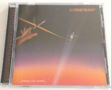 SUPERTRAMP FAMOUS LAST WORDS CD ALBUM 1982 BUONO SPED GRATIS SU + ACQUISTI!!