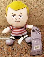 "NEW The Addams Family Movie Pugsley Plush Toy Factory Stuffed Doll 8"" Figure"