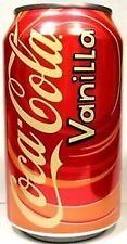 Coca Cola Vanilla Fridge 12 Pack Cans Flavoured Soft Fizzy American Soda Drinks