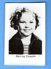SHIRLEY TEMPLE  VINTAGE PHOTO CARD PUBLISHER LATVIA  522