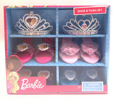 Barbie Shoe And Tiara Set NEW 4 Pairs of Shoes and 2 Tiaras
