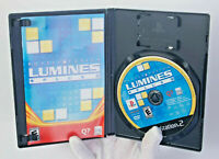 Lumines Plus Puzzle Fusion Sony Playstation 2 PS2 Complete CIB MINT DISC