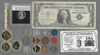 Silver Dollar Barber Mercury Liberty Indian War Rare Old US Coin Collection Lot