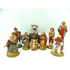 Natività Completa 11 PZ Landi Moranduzzo CM 6 - Sacra Famiglia Pastori Presepe