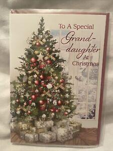 Granddaughter christmas card Grandaughter Chritstmas Cards - 6 variations