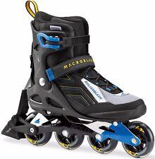 Rollerblade 2017 Macroblade 80 ABT Men's Black/Blue Inline Skates UK 9