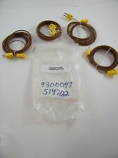 (4) NEW OMEGA K THERMOCOUPLE CONNECTORS