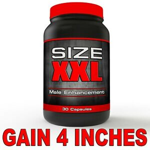 SIZE XXL PENIS ENLARGEMENT PILLS!! GAIN 4 INCHES NOW!!