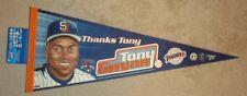 Tony Gwynn San Diego Padres Original ~Thanks Tony from 2002~  Licensed Pennant