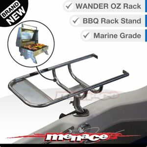 316 Marine BBQ Portable RACK STAND Mount Boat Gas Barbeque Outdoor Holder