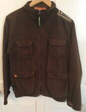 Superdry Brown Workwear Jacket By Superdry Men's - Size Medium