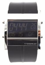 AUTHENTIC TAG HEUER MICROTIMER CS111C.FT6003 DIGITAL RUBBER SWISS WATCH