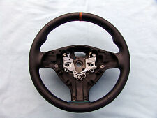 BMW M TECHNIC STEERING WHEEL E39 M5, E46 M3, NEW LEATHER AND CINNAMON TOP STRIPE