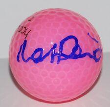 BEATRIZ RECARI signed *LPGA* PINK WILSON HOPE golf ball W/COA SPAIN EUROPE