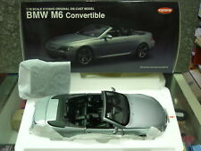 Kyosho 08704S BMW M6 Convertible)1/18