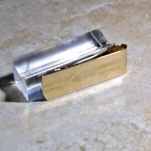 Colibr Men's gold plated money clip rare hard to find  made in usa