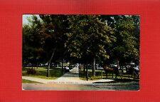Henry,Marshall County,IL Illinois,Central Park, Horse and Buggy used 1909
