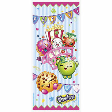 "60"" Shopkins Children's Birthday Party Plastic Door Banner Decoration"