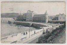 Wales postcard - Aberystwyth, The College - P/U 1907