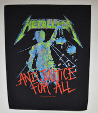 METALLICA - And Justice For All - Backpatch - 30 cm x 36,3 cm - 164623