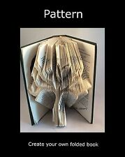 Tree of Life,  Book Folding PATTERN to create your own folded book art