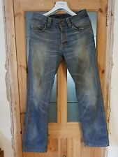 NUDIE JEANS Straight Alf Org. Cloudy Vintag Jeans - Men's Size W33 L34