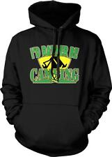 I'd Rather Be Camping Tents Campfire Propane Stove Nature Hiking Hoodie Pullover