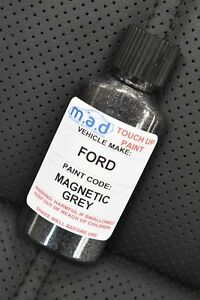 FORD MAGNETIC GREY TOUCH UP KIT BOTTLE REPAIR PAINT FIESTA FOCUS TRANSIT ETC