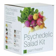 Seed Starter Growing Kit Grow Your Own Psychedelic Salad Plant Birthday Gift