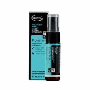 Comvita Propolis Oral Spray Extra Strength 20ml Contains Manuka Honey & Propolis