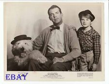 Fred MacMurray Kevin Corcoran VINTAGE Photo The Shaggy Dog