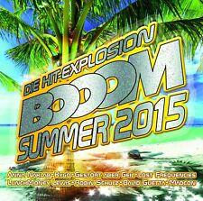 DIE HIT-EXPLOSION BOOOM SUMMER 2015 - SIA/GEORGE EZRA/SARAH CONNOR/+  2 CD NEU
