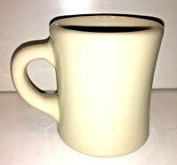 Victor Insulator Mug Cup Restaurant Ware Ivory Heavy Coffee USA Vintage
