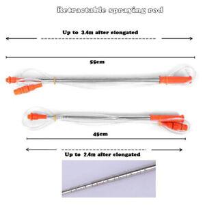 2.4/3.4m Spraying Rod For Hand Pressure Sprayer Outdoor Garden AccessoriesL*SG