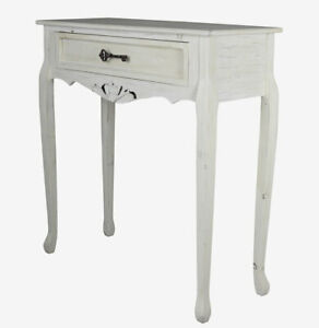 Wall Bracket White Console Table Side Flurtisch Cottage Telephone Antique