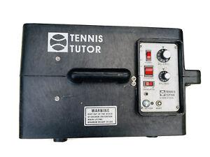 Tennis Tutor Ball Machine Model 2 Oscillator & Elevation Control Ball Thrower
