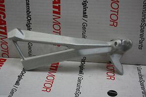NEW DUCATI 1098 848 Rear RH Bracket Foot Peg Holder Plate #82411241A
