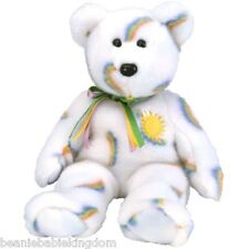 "TY Beanie Buddies Cheery The Sunshine Teddy Bear 14"" *rare*"