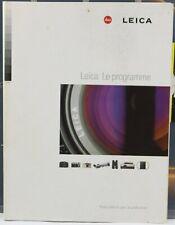 LEICA Le Programme Catalogue 1998 128 pages