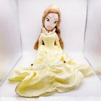 """20"""" Disney Store Princess BELLE Beauty and the Beast BATB Plush Toy Hoop Retail"""