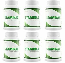 STAMINAX 6 Bottles Last Longer In Bed Prolong Sexual Activity Improve Endurance