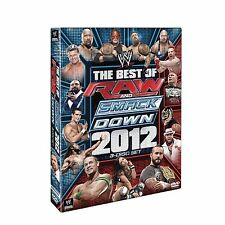 WWE BEST OF RAW AND SMACKDOWN 2012 3 DISC DVD BRAND NEW IN PACKAGE SEALED
